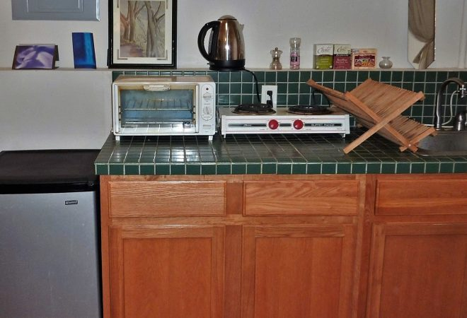 Image of kitchenette available with event space rental